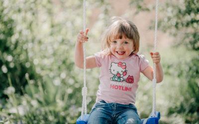 Familienreportage – Ein Tag im Garten